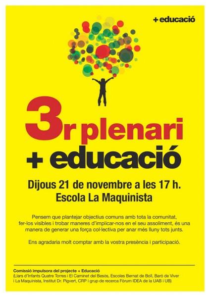 Cartell plenari +educació_424x600